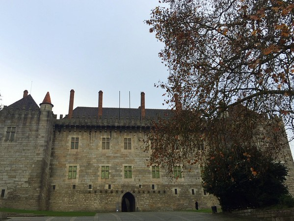 You'll see the 15th-century Paco do Duques on a Guimaraes walking tour in Portugal.