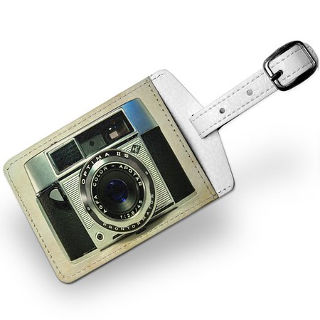Vintage Camera Luggage Tags