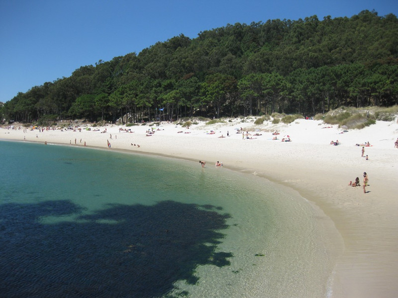 Discover the beautiful beaches of The Cies Islands on a road trip through Spain's Lower Rias.