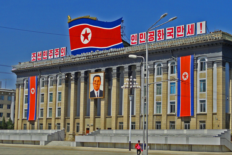 boomer-visits-kim-Il-sung-square-north-korea