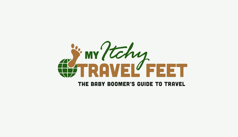 New logo for My Itchy Travel Feet