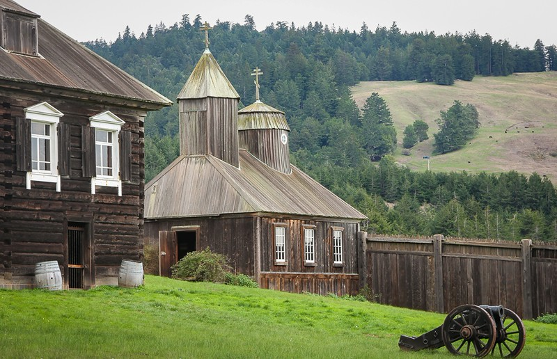 Explore Russian history at Fort Ross State Historic Park on the California coast.