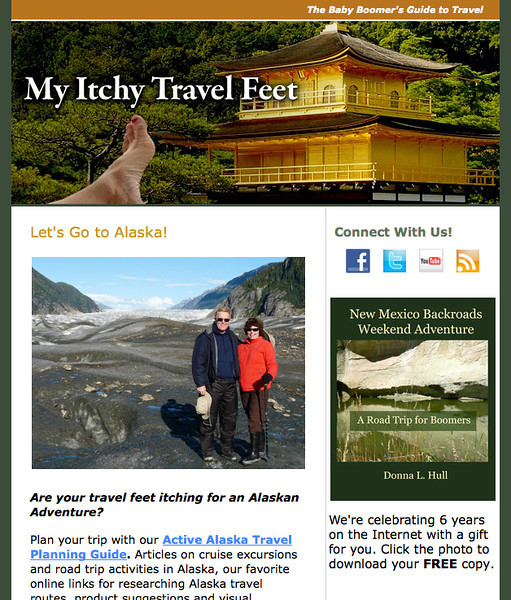 My Itchy Travel Feet June 2014 Newsletter